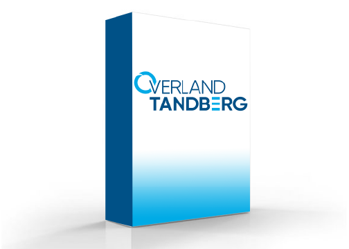 Overland Tandberg Data RDX Cartridge Encryptor Software Box Shot